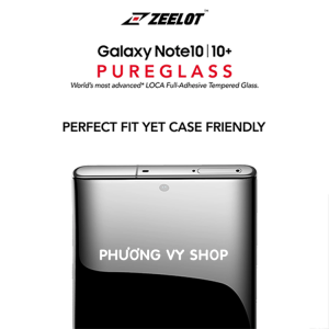 Dán màn hình Galaxy Note 10 Plus - Kính cường lực keo UV Zeelot